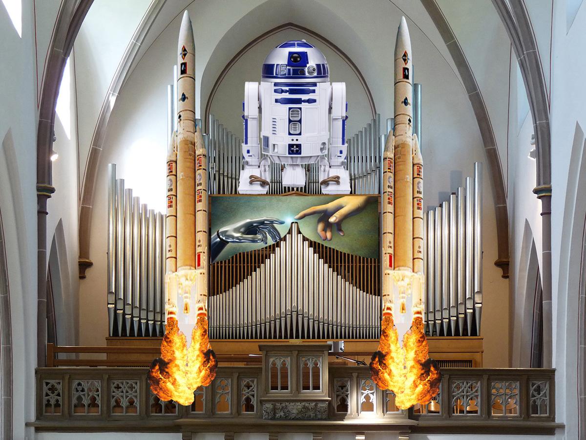 Orgel-SciFi-Nacht in Sankt Joseph - Kunst und Vergnügen pur!