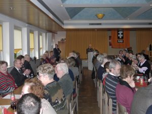 Vollbesetzter Saal bei der KAB zur Barbarafeier 2012