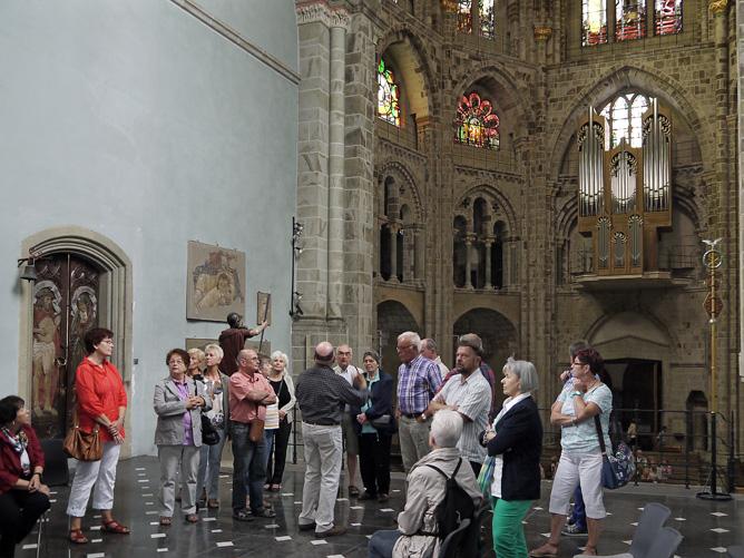 KAB besucht Sankt Gereon in Köln