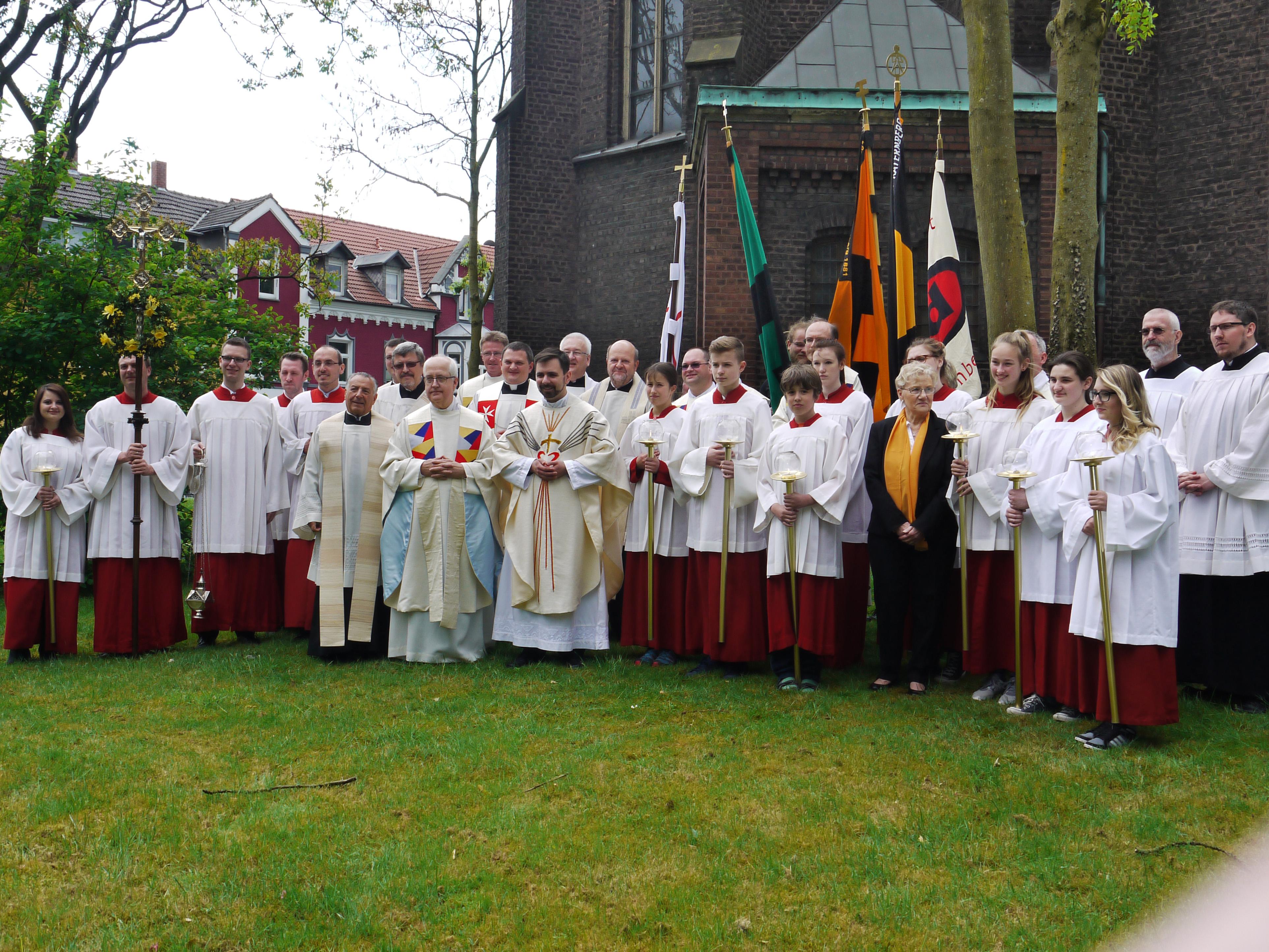 Robert Hilger aus St. Joseph zum Priester geweiht
