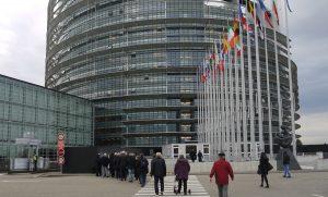 KAB St. Joseph zu Besuch im Europa-Parlament