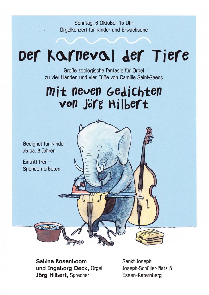 """2. Orgelkonzert """"Karneval der Tiere"""""""