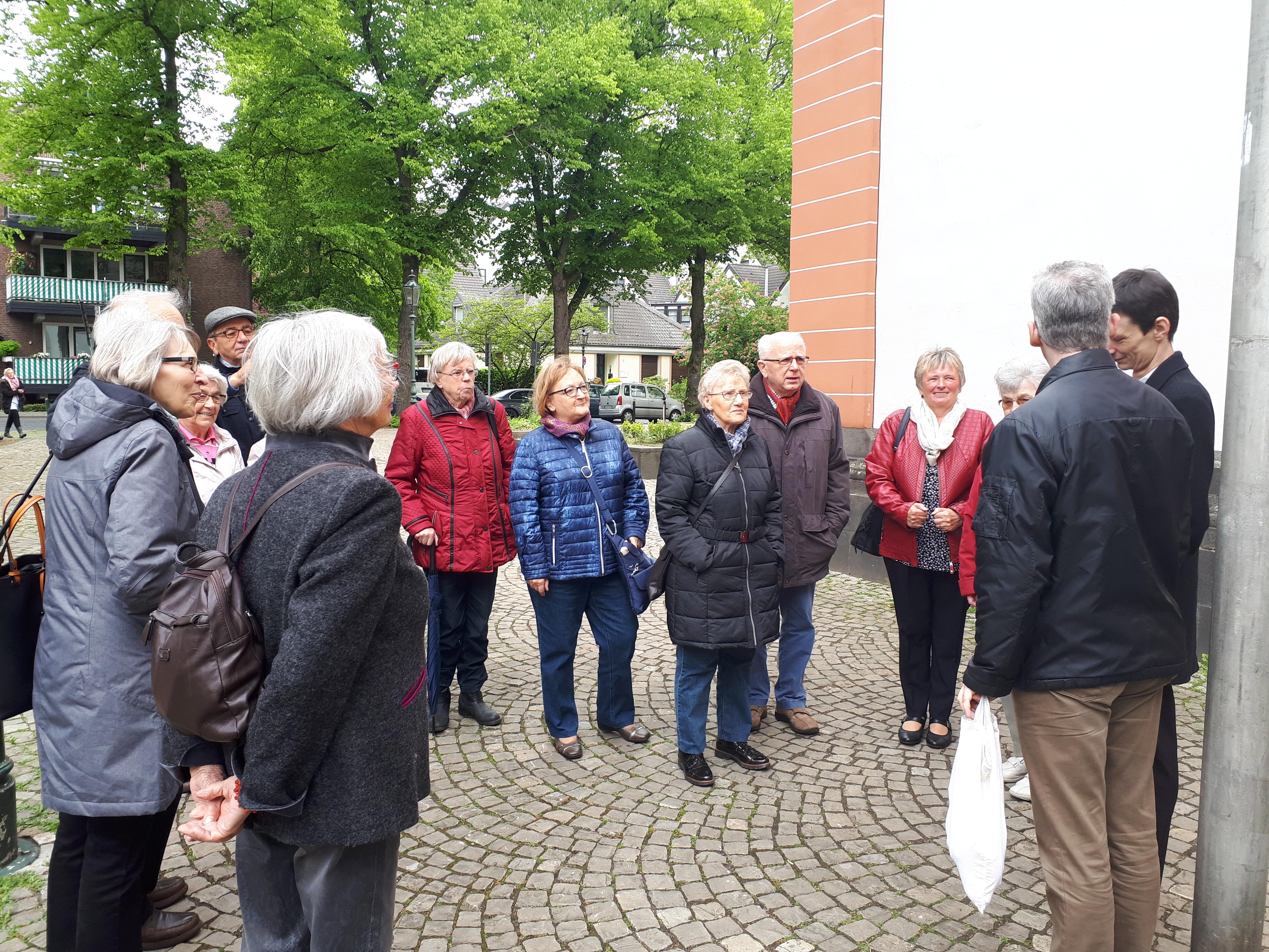 Kolping-Jahresausflug nach Düsseldorf-Gerresheim