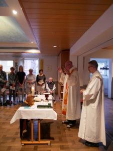 Heilige Messe mit Pastor Arnold Jentsch