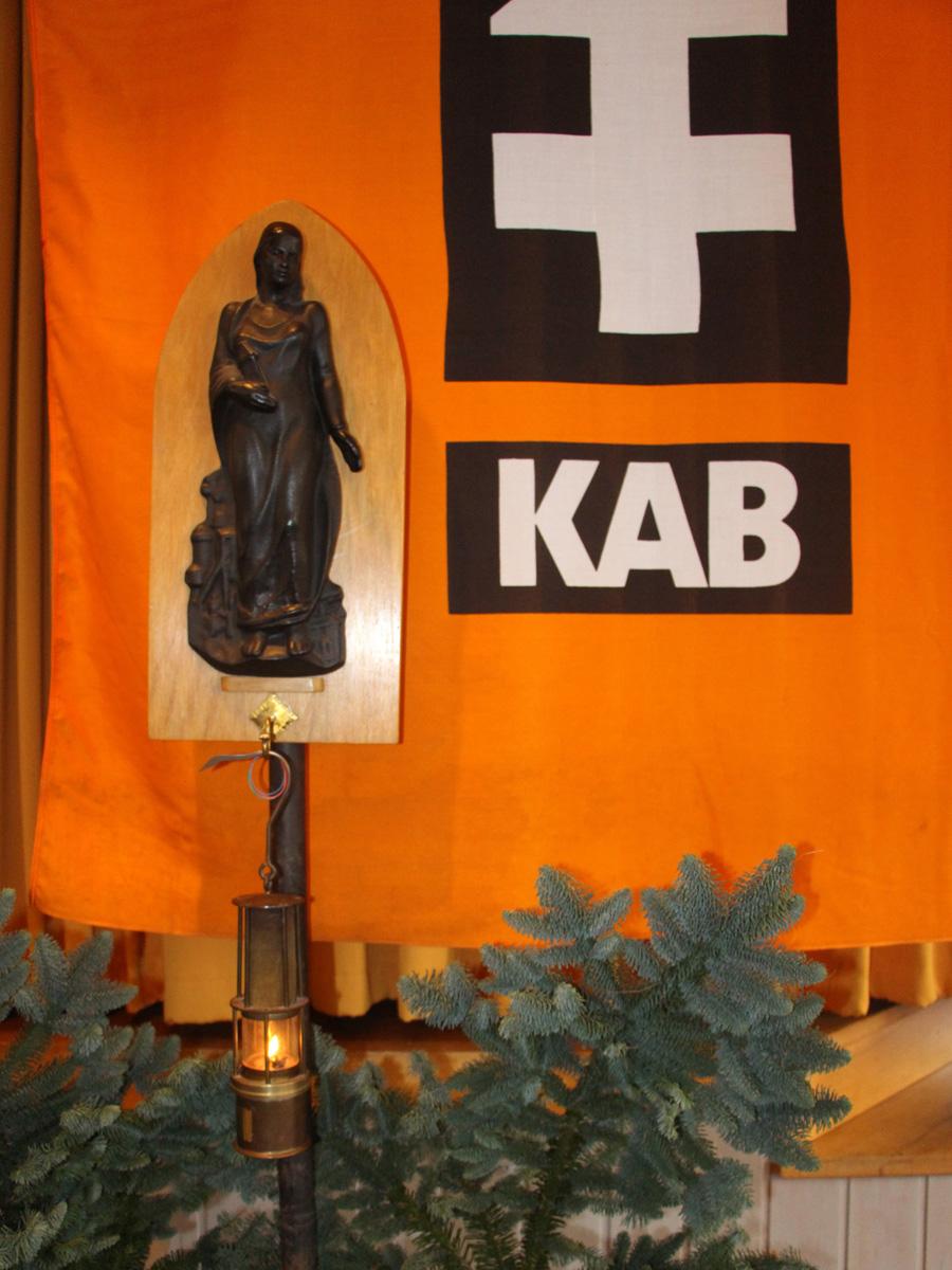 Barbarafeier der KAB St. Joseph am 1. Advent