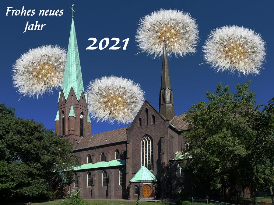 Neujahr 2021 - ein Orgelgruß aus St. Joseph