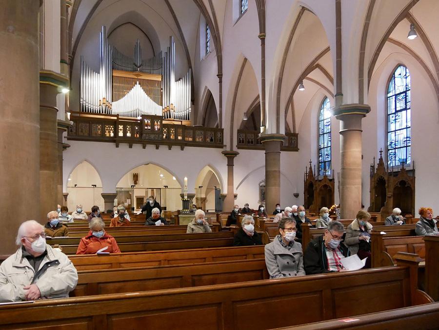 Der Kirchenchor St. Joseph schaut zurück auf den Chortag im November