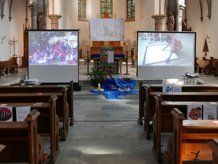 Offene Kirche zum Weltgebetstag 2021