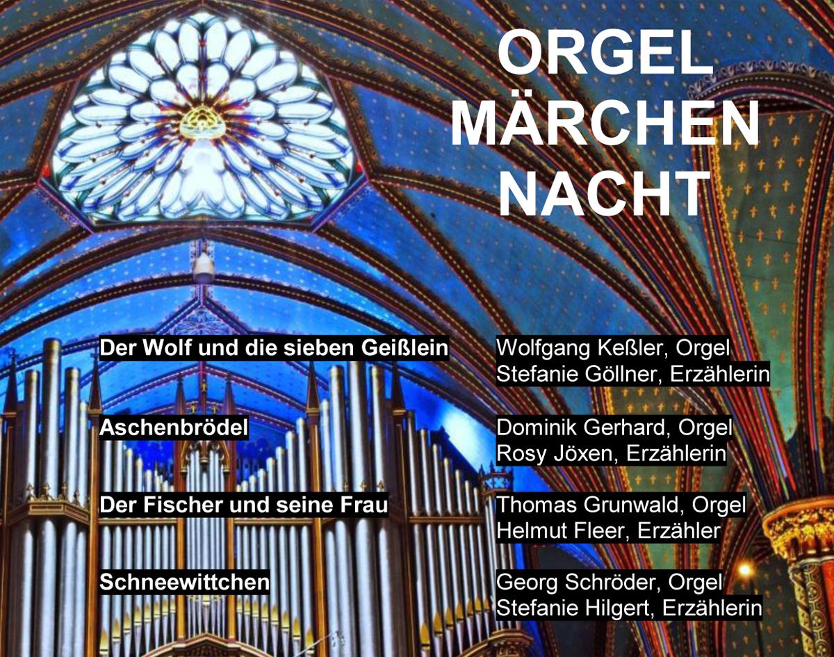 Orgelmärchennacht in St. Joseph